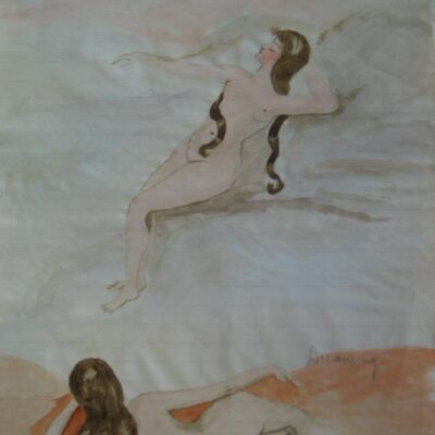 LDBTH:536 - Female Nude Series XIX (Dreaming)