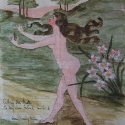 LDBTH:538 - Female Nude Series XXI (Calling Her Mate)