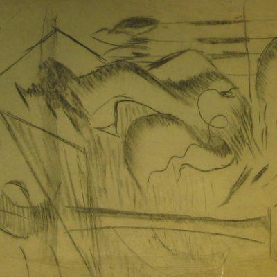 LDBTH:572 - Charcoal Sketch I