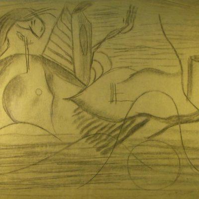 LDBTH:573 - Charcoal Sketch II