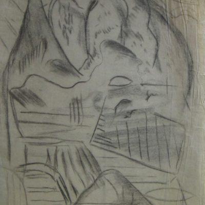 LDBTH:574 - Charcoal Sketch III