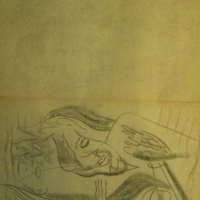 LDBTH:575 - Charcoal Sketch IV