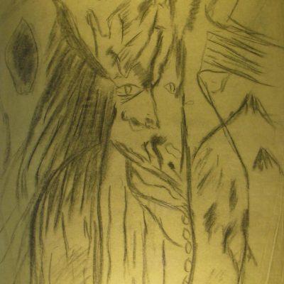 LDBTH:576 - Charcoal Sketch V