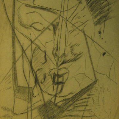 LDBTH:578 - Charcoal Sketch VII