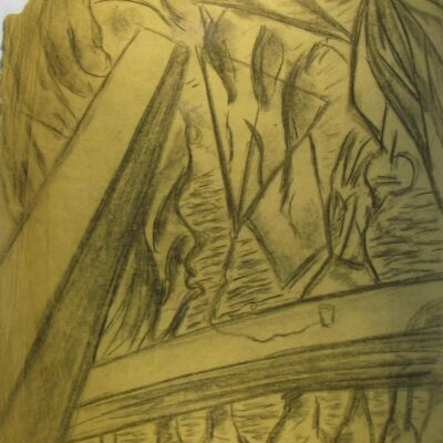 LDBTH:579 - Charcoal Sketch VIII