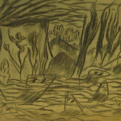 LDBTH:580 - Charcoal Sketch IX