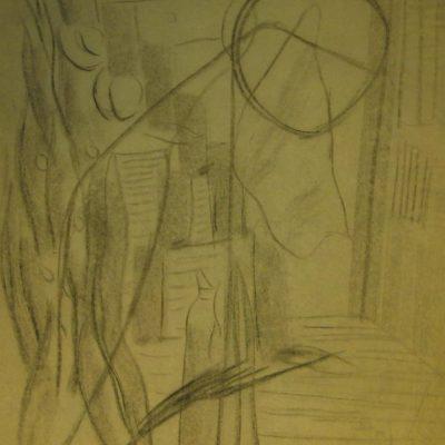 LDBTH:581 - Charcoal Sketch X