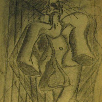 LDBTH:582 - Charcoal Sketch XI (Dictator)