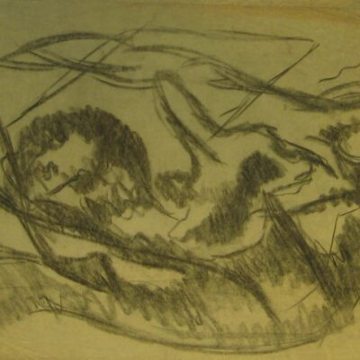 LDBTH:583 - Charcoal Sketch XII