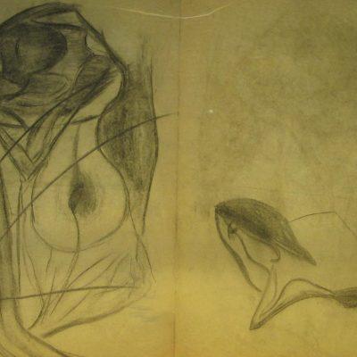 LDBTH:585 - Charcoal Sketch XV