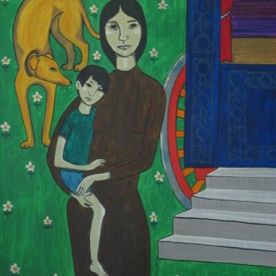 LDBTH:593 - Gypsy Woman and Child