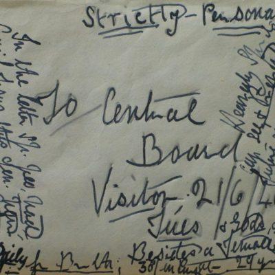 LDBTH:695 - Illegible Letter