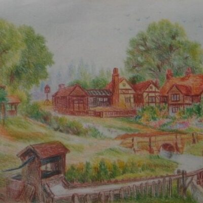 LDBTH:70 - Village with Stream