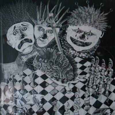 Me, Myself, I artwork by Allan C. Beveridge