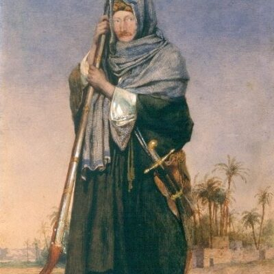 LDBTH:743 - Portrait of Sir Thomas Phillips in Arab Dress