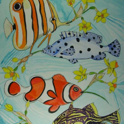 LDBTH:746 - Tropical Fish and Temperate Flowers