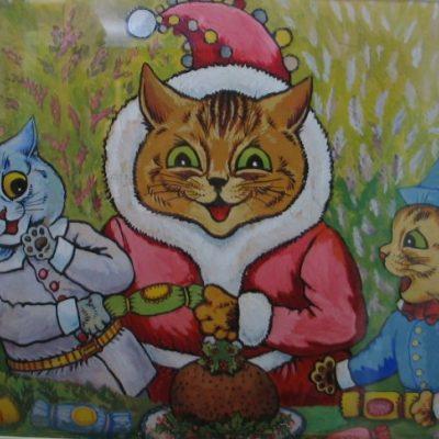 LDBTH:75 - Three Cats and Plum Pudding