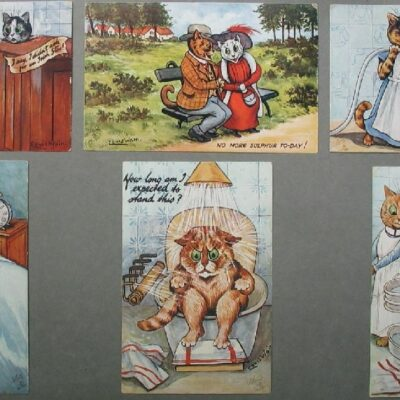 LDBTH:76 - Taking the Waters as seen by Louis Wain