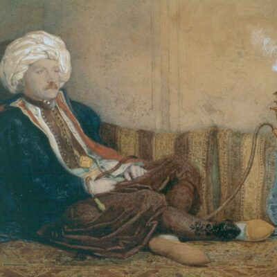 LDBTH:774 - Portrait of Sir Thomas Phillips in Turkish Dress