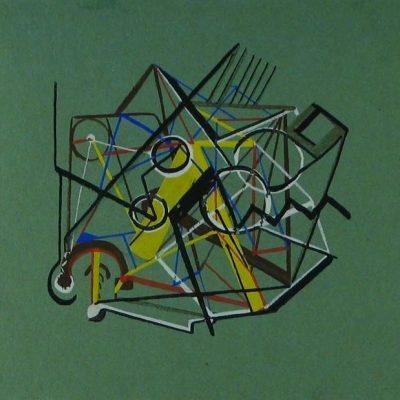 LDBTH:79 - Green Abstract
