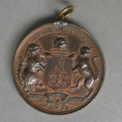 LDBTH:790 - National Cat Club Medal