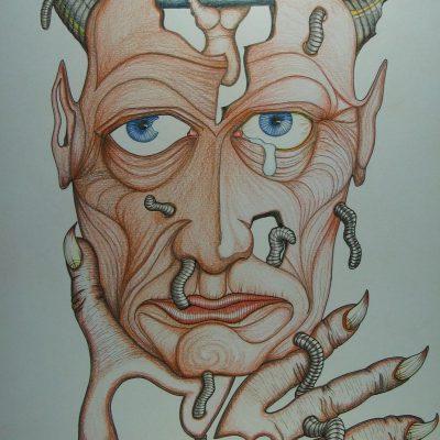 LDBTH:818 - Self Portrait of a Depressed Alcoholic