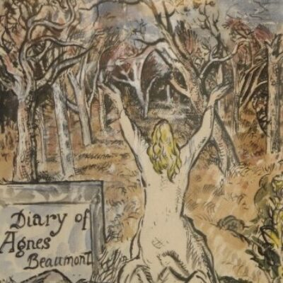 Diary of Agnes Beaumont 1 Frontispiece artwork by Thomas Hennell