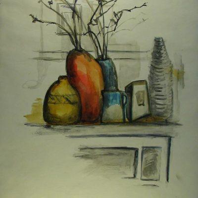LDBTH:9 - Still Life with Twigs