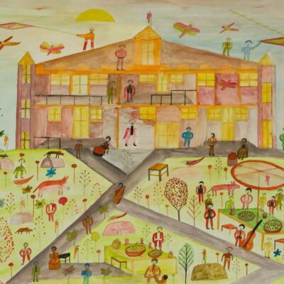Sunfayre artwork by Gordon Barrington