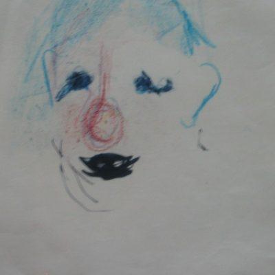 LDBTH:947 - Head of a clown