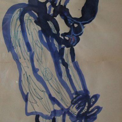 LDBTH:951 - Thinking; Self Portrait
