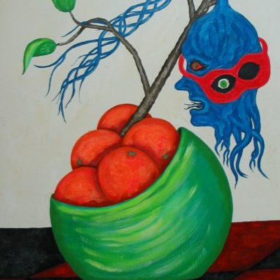 LDBTH:954 - Still Life with Oranges and Head