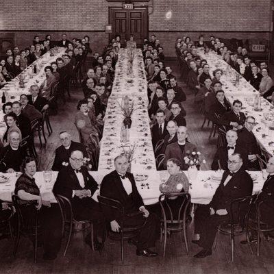 Staff annual dinner